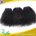 premium calidad 6A maraña gratis afro rizado clip en extensiones de cabello