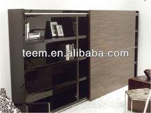 2014 new design wooden bookcase set bookcase maker