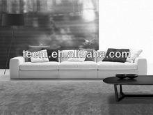 Modern italian fabric combination sofa guangzhou living room furniture