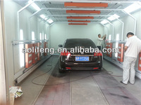 paint spray booth for car body