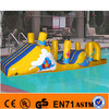 Lake inflatable floating crazy water game obstacle course toys for adults and kids