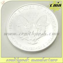 2014 custom engraved silver coin/silver eagle coin/silver plated coins