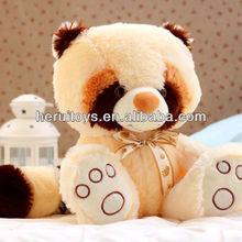 lovely cartoon animal raccoon stuffed toy &Dongguan factory product toy stuffed raccoon&low-cost plush animal toy monkey