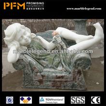 PFM Natural stone hand carved decorative nutcracker statues