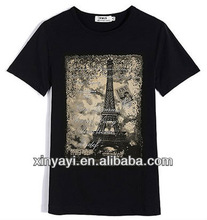 High quality cotton t shirt wholesale china/wholesale t shirts cheap t shirts in bulk plain/t shirts manufacturers china clothes