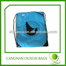Factory cheap gift drawstring bag/drawstring backpack