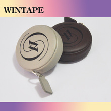 200cm/79inch new kids promotional pu leather gift item less than 1 dollar tape measure for advertising company brand and name