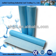 cheaper disposable medical dental paper PP film table cover rolls exam table paper rolls