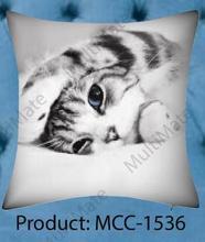 Cute sleeping cat printed animal printed christmas theme customized cushion covers
