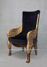 oro antico re trono sedia per la casa e albergo uso