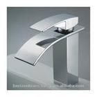 Contemporary Brass Chrome Finish Unique Sink Faucets