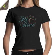 Be Mine Love Heart Brand T-shirt Customize