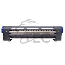 Working stable DX5 dx7 print head indoor digital solvent inkjet printer plotter de impression 3.2meters printing machines