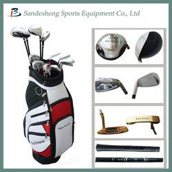 Left handed complete golf clubs set