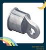 fence top rail end aluminum casting cap round post cap die casting