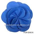 La moda de la pu de cuero hecho a mano de flores para la decoración/vestido, flw-0327