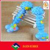 Best quality unique plastic dog bone toy,colorful pet bone toy