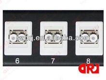 16Port SC / APC Fiber Optic Patch Panel with 2 Splice Tray
