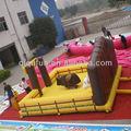 De la fábrica venta al por mayor inflable mecánica toro estera eléctrica toro de China