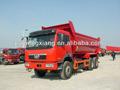 6*4 6.2 251-350hp m u estilo de la tolva faw camiones volquete