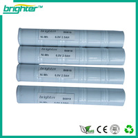 SGS CE ISO complied manufacturer 2500mah 6.0v nimh 1/2c battery pack