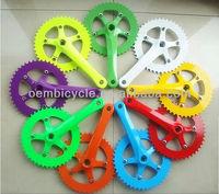 colorful chainwheel for fixed gear bike