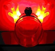 COLOR CHANGE LED Light Up DEVIL HORN Halloween Hairband Wholesale