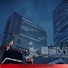 immobiliare animazione 3d