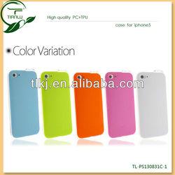 Shenzhen TianLu fashionable sense flash light led hard case for apple iphone 5