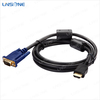 High quality hdmi to vga + rca x 3 cable converter 1080p