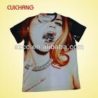 T shirt wholesale china bulk sale custom printing design 100% polyester t shirt