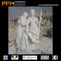 pfm natural mão de pedra esculpida decorativo soldado escultura estátua