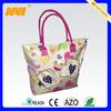 2014 simple cotton canvas beach bag(NV-C0271)