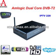 Android 4.2 Dual Core+DVB-T2/DVB-T HD Hybrid Set Top Box