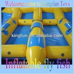 2014 inflatable water games flyfish banana boat