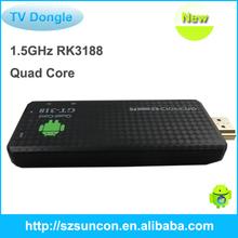 quad core cortex a9 1.5ghz android mini pc tv dongle