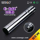 Origainal manufacturer 1300mah pyrex tank Seego G-hit battery GIB-2 battery regenerator