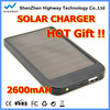 HIGHWAY Quality goods solar charger/portable mobile power charger/solar power charger