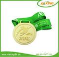 2014 melhor venda olímpicos personalizado- feito em branco medalhas do esporte com fita