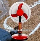 hot selling cheap price 16 inch 12v solar desktop fan