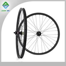 27.5 tubular carbon MTB wheels mountain bike wheels carbon 27.5er width 35mm profile 25mm MTB clincher rims 3 kmatte