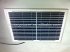 VDE IEC, CSA-UL 18W poly solar panel