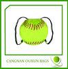 new design polyester baseball drawstring bag