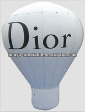 Helium Balloon Hot Air Balloon Decor Inflatable White Balloon Dior Brand For Advertisement Sale Business