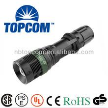 Waterproof high lumen tactical police hunting cree led nitecore flashlight