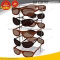Estante soporte de exposición de gafas de sol de dos lados