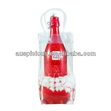 2014 Handle pvc Wine cooler bag plastic