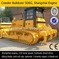 Bulldozer pista utiliza la venta, china marca nuevo bulldozer sobre orugas