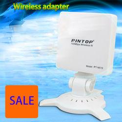 150Mbps WiFi receiver / transmitter wireless usb adapter high power wifi antenna networking lan card