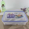صناديق الغداء مقصورة-- ألوان متعددة تقسيم الغذاء تخزين الحاويات
